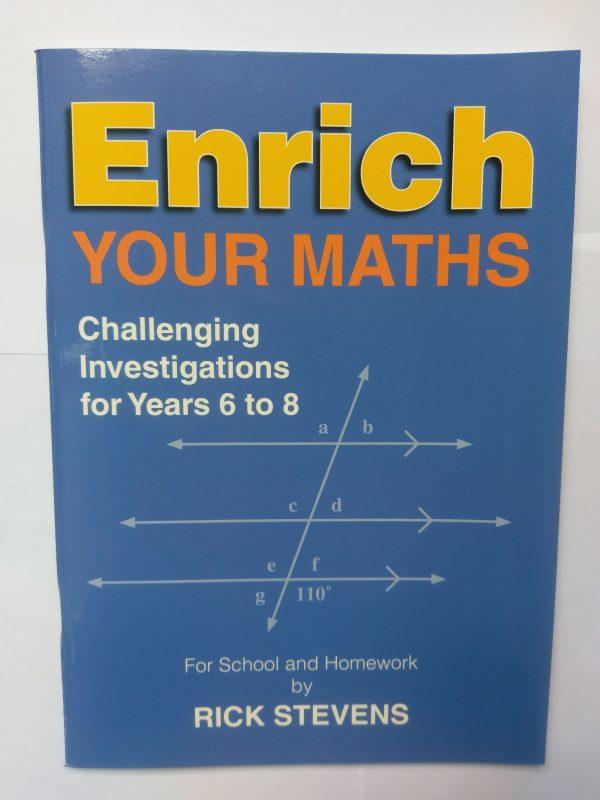 Enrich your Maths ( Yr 6-8)
