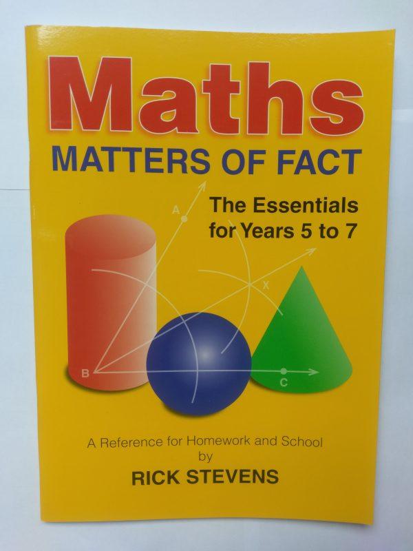 Maths Matter of Facts (Yr 5-7)