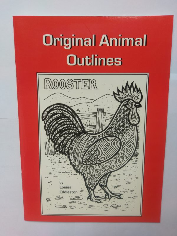Original Animal Outlines by Louisa Eddleston