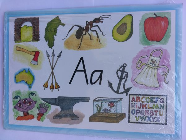 Australian Alphabet Activity Cards