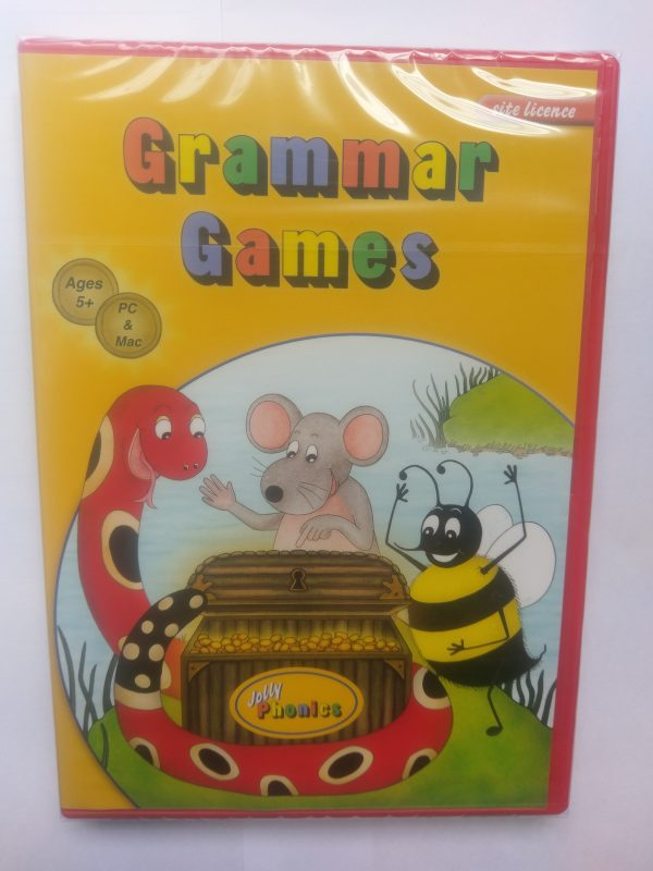 Jolly Phonics Grammar Games CD (site licence)
