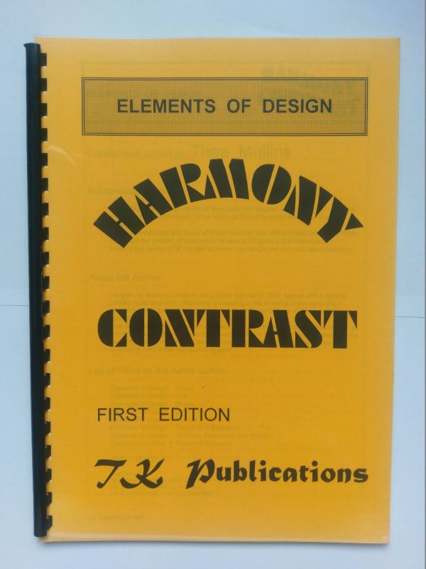 Harmony/Contrast Elements of Design by TK Publications